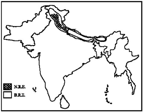 Outline Map Of Indian Subcontinent by A Compendium Of Papaveraceae S L In Indian Subcontinent Its Distribution And Endemism