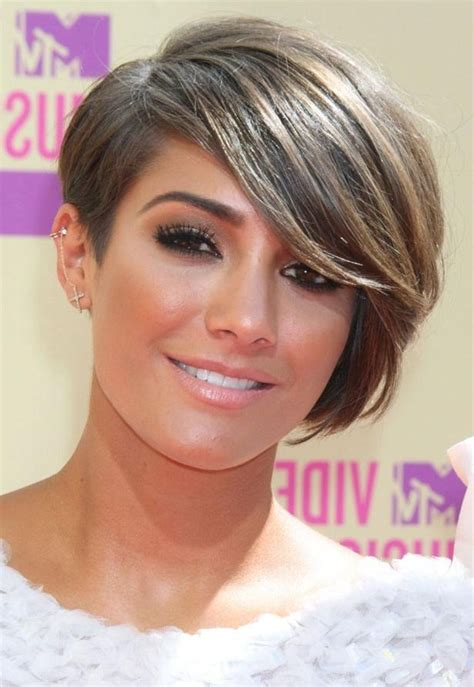 sweep fringe hairstyles 20 inspirations of short haircuts with side swept bangs