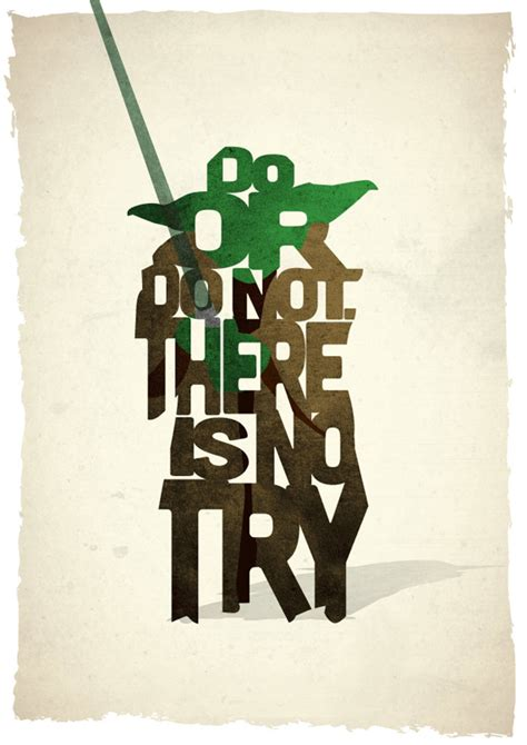 printable yoda quotes typographic star wars prints featuring iconic characters