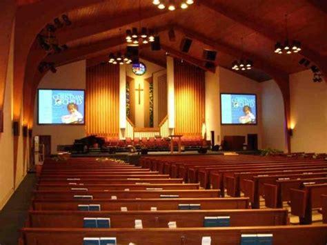 church projectors and screens
