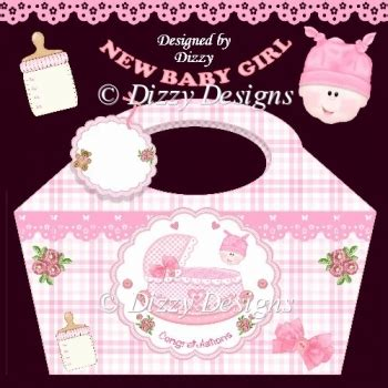 Bye Bye Baby Gift Card - rock a bye baby girl gift basket and tag 163 0 90 instant card making downloads