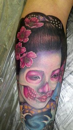tattoo geisha skull 1000 images about sugar skulls on pinterest sugar skull