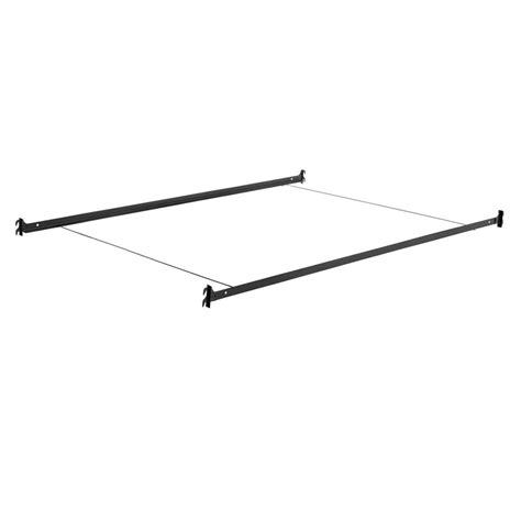 twin bed rails with hooks twin full size hook on steel frame rails for headboard