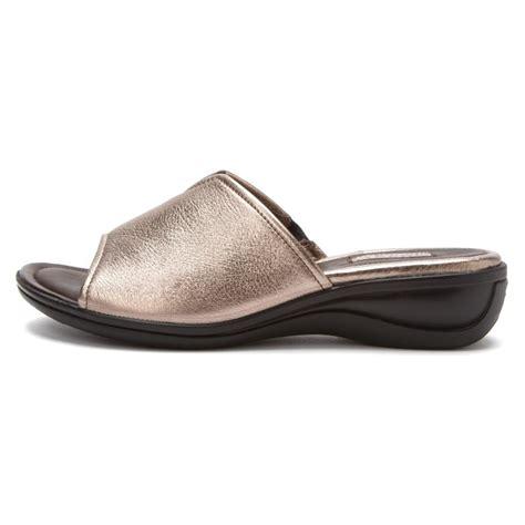 womens sandals slide ecco women s sensata sandal dress slide sandals in wm grey