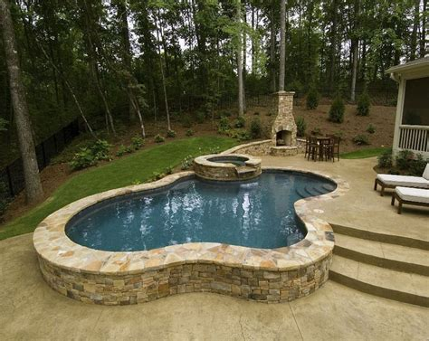 small inground pool ideas small raised pool brilliant semi inground pools pinterest maybe someday fireplaces and