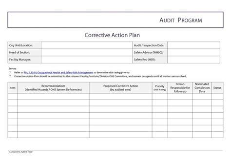 Project Management Corrective Plan Template Download Ma Gantt Chart Gantt Chart Excel Template