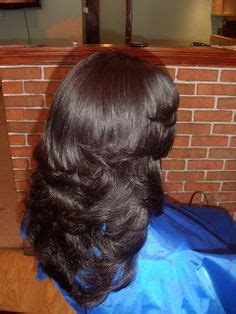 pics of partial side sewing hair weave sew in weave with lace closure custom color stylist tim