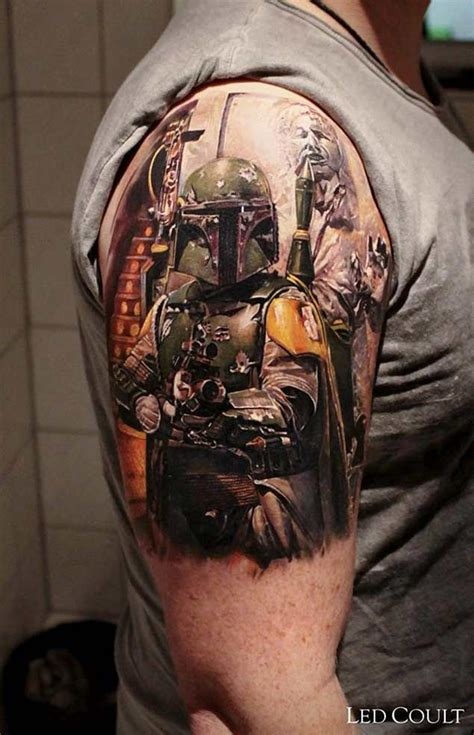 boba fett tattoos 25 best ideas about wars on
