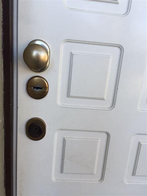 serratura porta blindata bloccata serratura fantoni sicurezza
