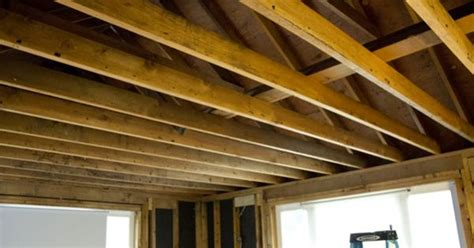 exposed ceiling joists  attic space stuff