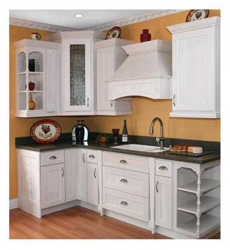 New White Shaker Cabinets All Wood Diy Rtas Ideal For Cheap White Kitchen Cabinets