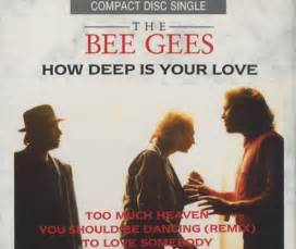 bee gees how deep is your love bee gees how deep is your love uk cd single cd5 5 quot 279
