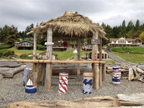 Tiki Bar Island Driftwood Tiki Bar On Whidbey Island Washington At