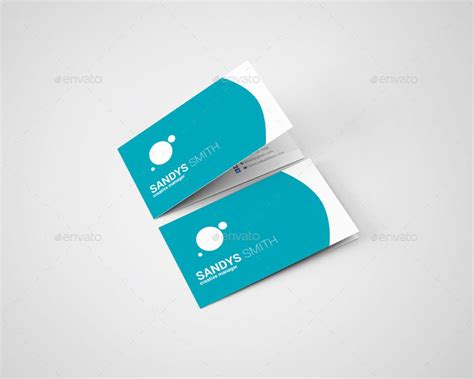 folded business cards template folded business card mockup v1 by idesignstudio net