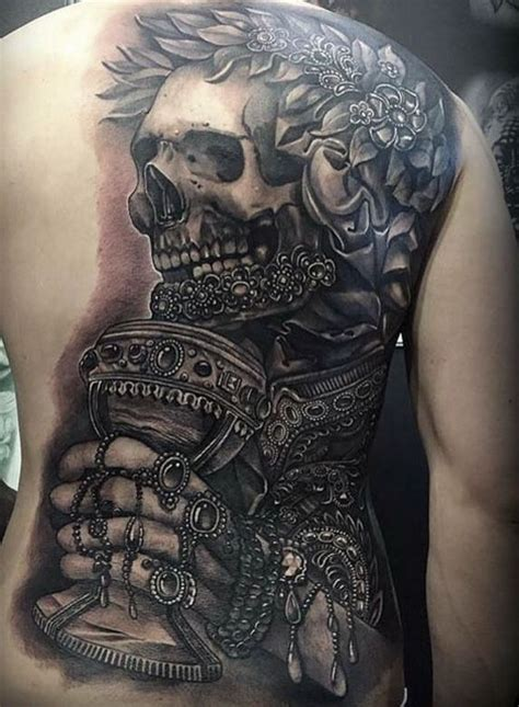 half back tattoo emperor skeleton best ideas gallery