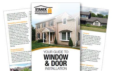 window and door installation windows doors installation guide stanek windows doors