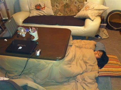 japanese kotatsu life under the kotatsu let the upper body fend for