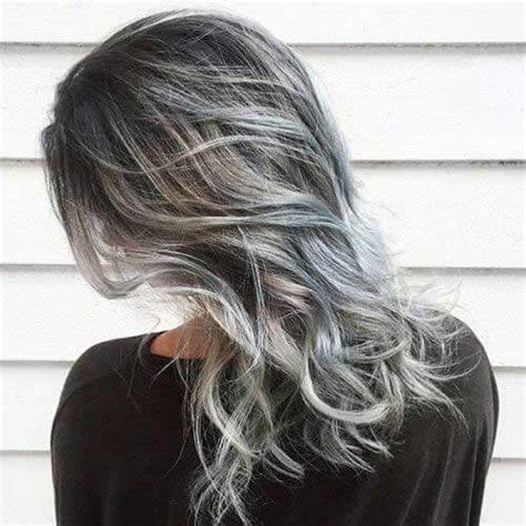 52 lavish gray hair ideas you ll love hair motive hair grey highlights on brown hair pictures life style by