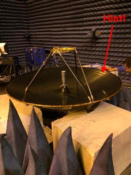 radio communication   tess high gain antenna
