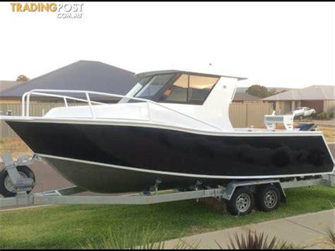 boat winch for sale sydney sabrecraft 7 50m aluminium half cabin boat for sale in