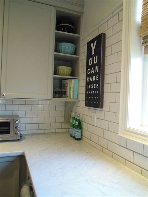 subway tiles with dark grout houzz white subway tile dark grout backsplash pinterest