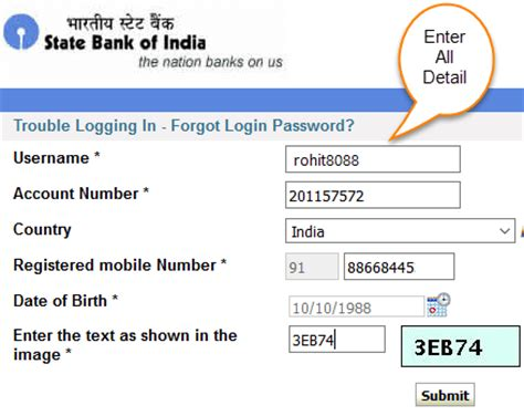 reset my online banking password 3 ways to reset sbi internet banking login password online