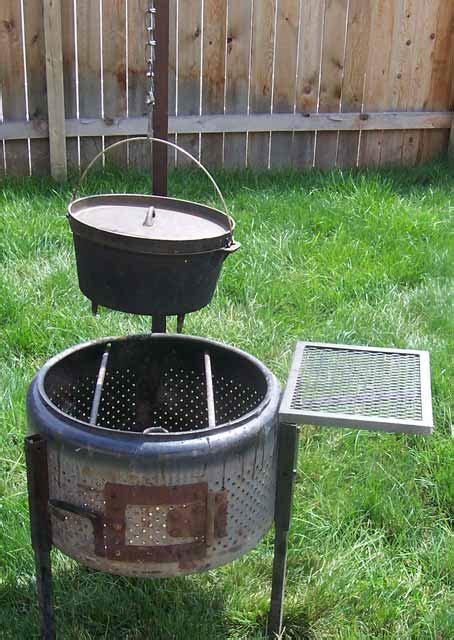 Washing Machine Firepit Cookerwars Creative Ways To Use A Washing Machine Tub As A Pit