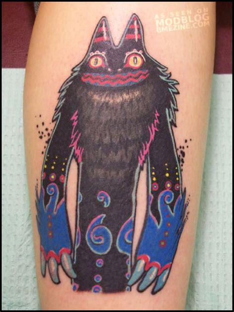 tattoo cartoon monster hilarious cartoon monster tattoo bme tattoo piercing