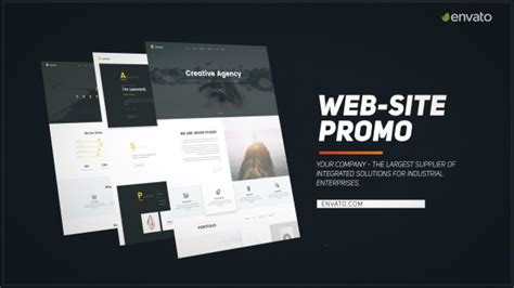 Web Site Promo After Effects Template Videohive 19423716 After Effects Project Files Website Promo After Effects Template Free