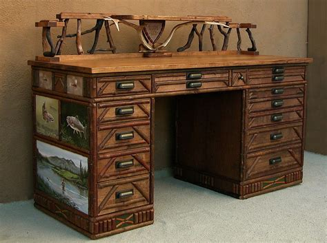 custom made fly tying desk by abiding branches