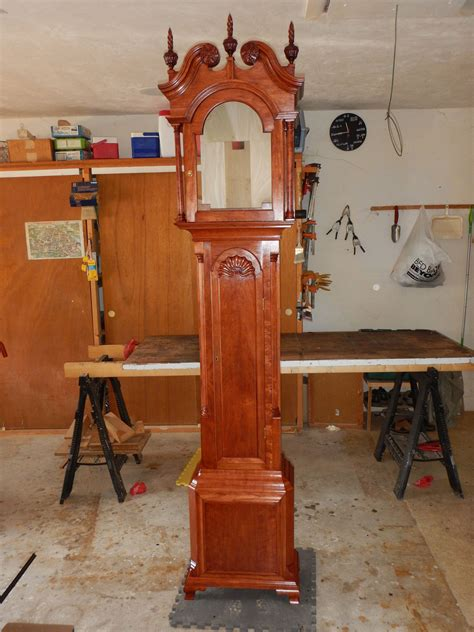 hand crafted grandfather clock kit  naples precision