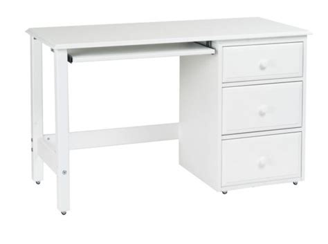 writing desk with wheels furniture white small writing desk with two drawers and