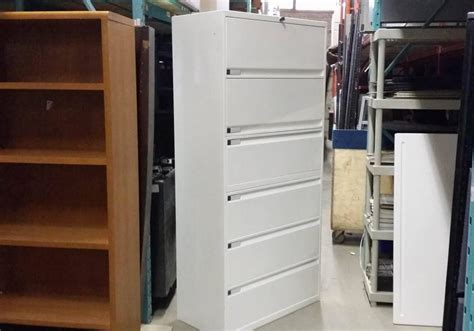 teknion 6 drawer lateral file cabinet toronto new used