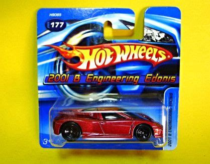 Hotwheels 2001 B Engineering Edonis 2001 b engineering edonis wheels 2005 mainline series 177 diecast cars metro manila