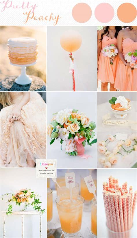 peach wedding inspiration peach wedding colour schemes