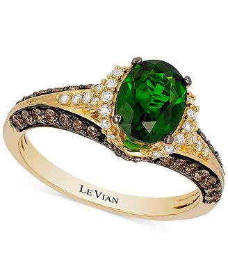 le vian chocolatier 174 emerald 1 1 10 ct t w and