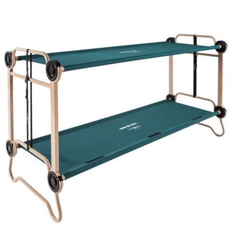 Bunk Bed With Cot Disc O Bed O Bunk 174 Large Stackable C Cot Bundle Gateway Products Cots