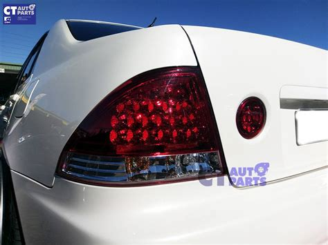 lexus is300 tail lights clear red led tail lights led trunk lights for lexus