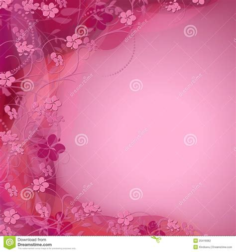 cute colors cute pink floral color shaded background stock photography