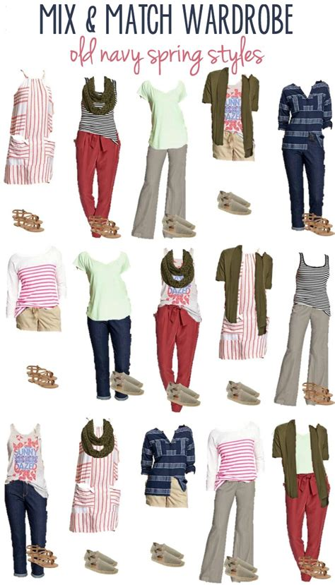 Mix Match Wardrobe navy styles 16 mix match wardrobe options
