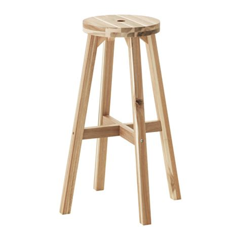 ikea wooden bar stool skogsta bar stool ikea