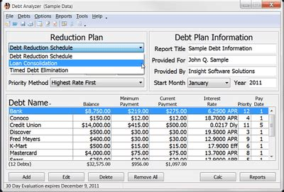 credit card analysis template the best free debt reduction spreadsheets in 2018