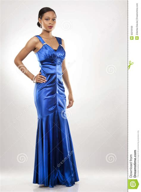 name of black women in blue dress in viagra commercial black woman in evening gown stock photo image 32219100