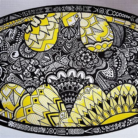 batman mandala tattoo sannevangorkum their awesome yellow and black batman