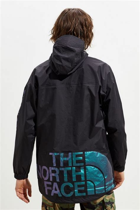 north face cultivation graphic anorak rain jacket