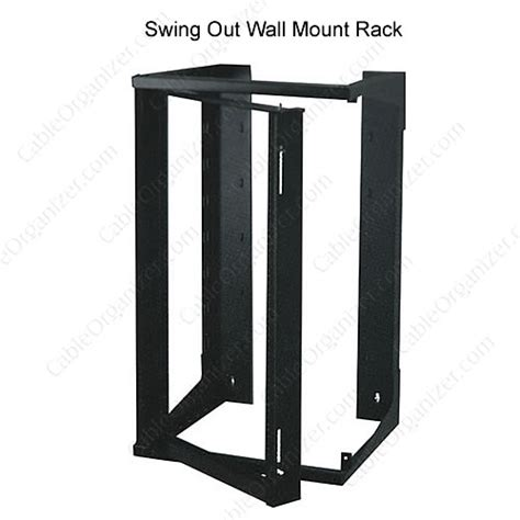 Quest Swing Out Wall Mount Rack