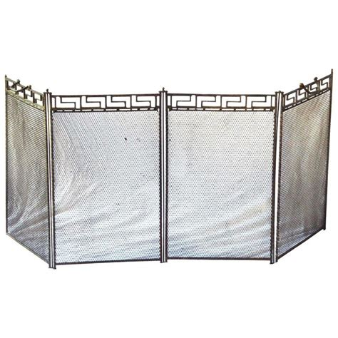 art deco fireplace screen french art deco fireplace screen for sale at 1stdibs
