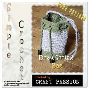 free pattern crochet drawstring bag crochet drawstring bag free pattern bags drawstring