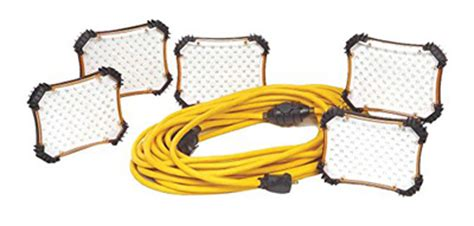 work light string led temporary work light string 50 ft 450 led 110v 33w