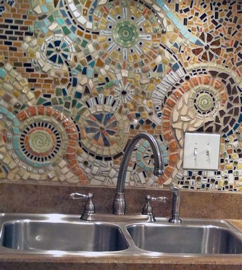 mosaic designs for kitchen backsplash mosaic backsplash curbly